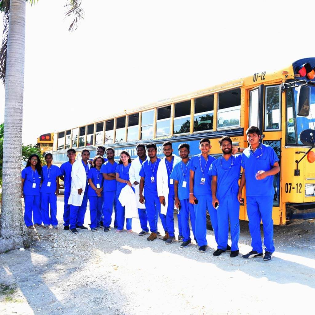 columbus central university/belize mbbs student