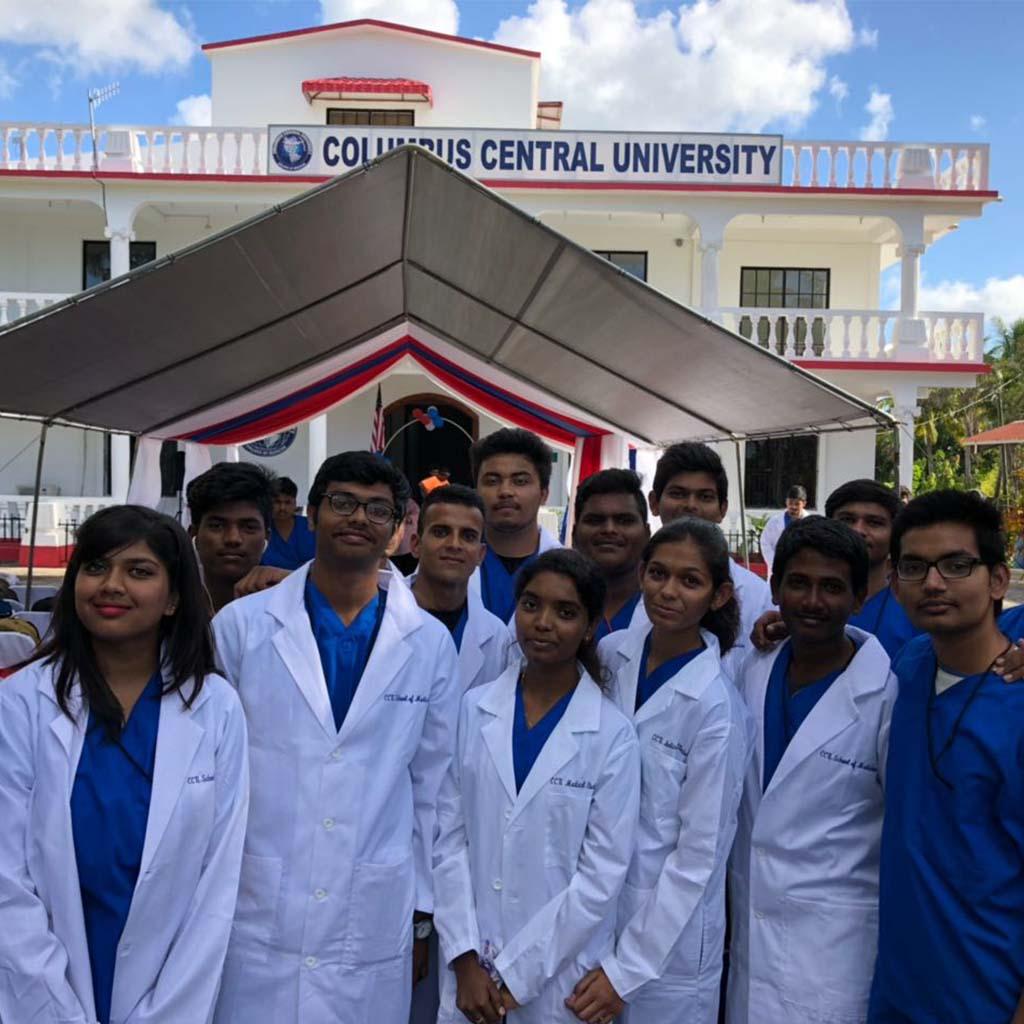columbus central university/mbbs