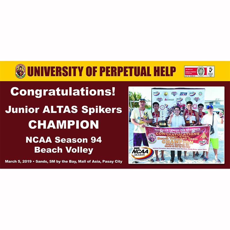 logo of university of perpetual help system dalta